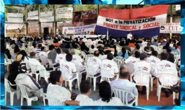 1-Federaciones-Sindicales-Protestas-Congreso-Senado-Diputados-Banco-Central-Paraguay-ANDE-Federación-Educadores-Paraguay-Marta-Lafuente