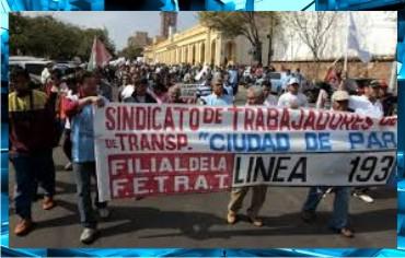 5-Federaciones-Sindicales-Protestas-Congreso-Senado-Diputados-Banco-Central-Paraguay-ANDE-Federación-Educadores-Paraguay-Marta-Lafuente