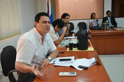 Carlos Echeverria, candidato a intendente por la ANR.